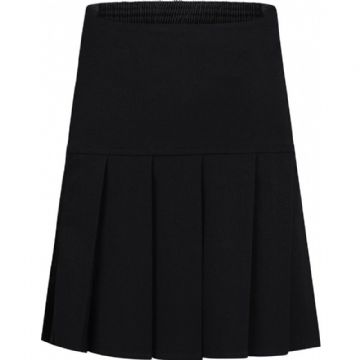 Fan Pleat Elasticated Skirt